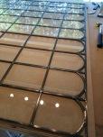 Detailfoto grote raam